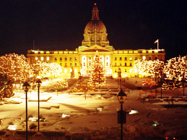 for northern contributor, Liam, Canada's legislature